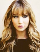 Ombre Hairstyles with Blunt Bangs