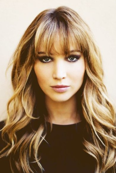ombre hairstyles with blunt bangs popular haircuts