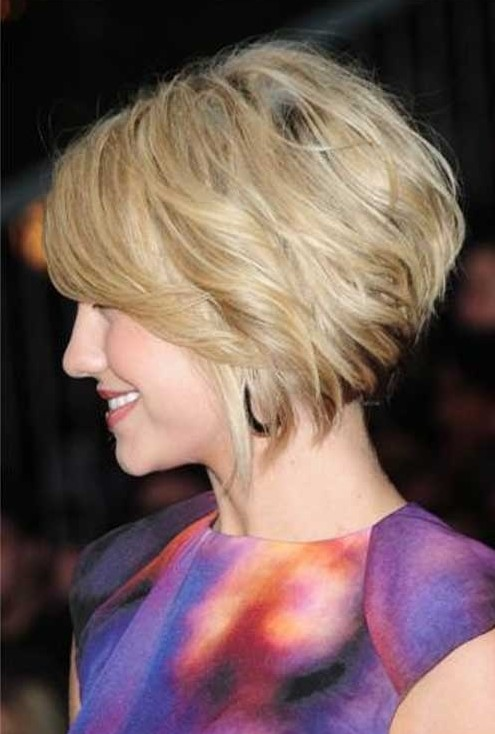 Short Bob Hairstyles for Wavy Hair 2014