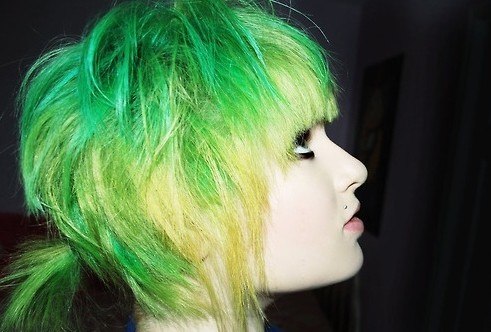 Pretty dyed hair tumblr