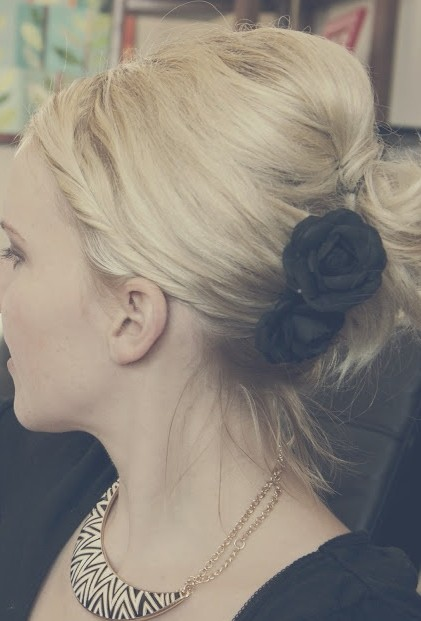 Simple Formal Updo Hairstyles for 2014