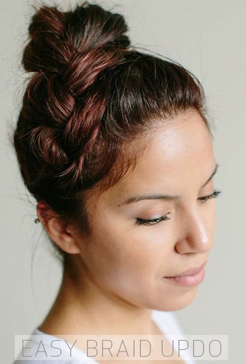 for long hair pinterest simple and easy hair updo pinterest
