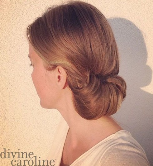 Simple and Easy Hair Updo