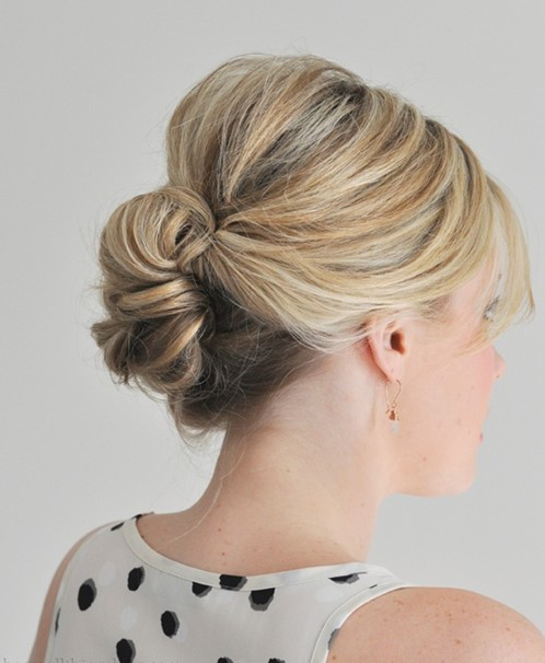 Simple and Easy Hair Updos 2014 - PoPular Haircuts