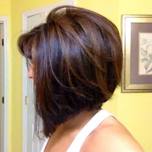 Stacked Bob Hair Cuts / Pinterest