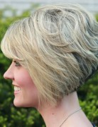 Stacked Bob Haircut for Short Hair 2014