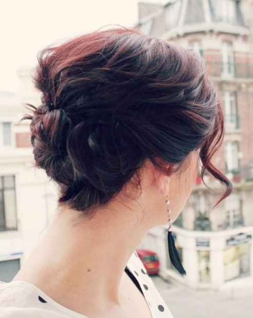 Updo Hairstyles for Ombre Hair 2014