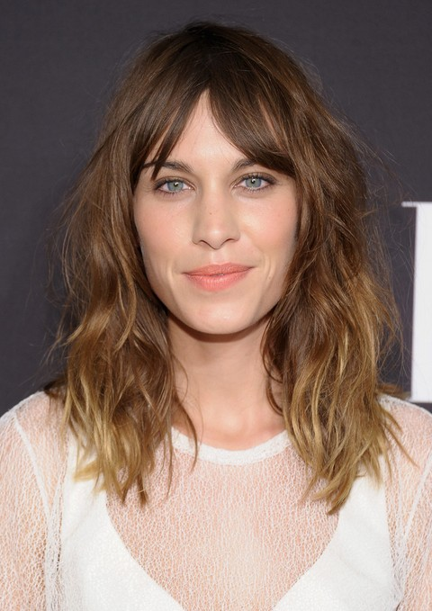 2014 alexa chung haircuts medium ombre hair style popular haircuts. Black Bedroom Furniture Sets. Home Design Ideas
