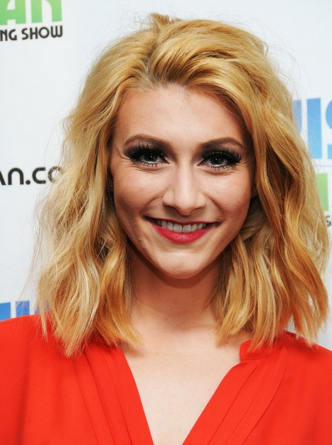 2014 Amy Heidemann Haircuts: Medium Layered Hairstyle