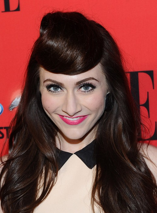 2014 Amy Long Hairstyles: Straight Hair