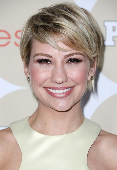 2014 Chelsea Kane Short Hairstyles: Cute Pixie Cut