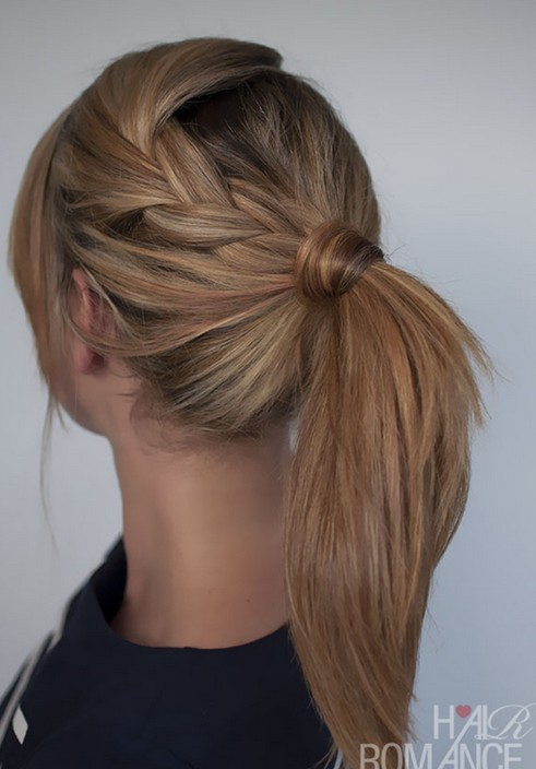 Pleasing 10 Cute Ponytail Hairstyles For 2014 New Ponytails To Try This Short Hairstyles For Black Women Fulllsitofus