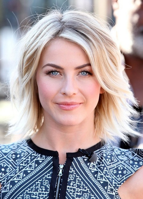2014 Julianne Hough Short Hair Styles Cute Layered