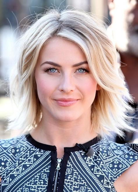 2014 Julianne Hough Short Hair Styles: Cute Layered Haircut