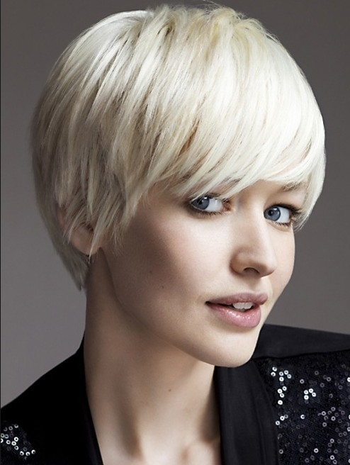 2014 Short Hairstyles with Bangs for Women