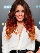 2014 Vanessa Hudgens' Hair Styles: Ombre Long Curly Hairstyles