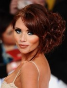 Amy Childs Long Hairstyles: Fabulous Messy Updo Hairstyles
