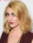 Amy Heidemann Blonde Hairstyles: 2014 Blunt Shoulder-Length Hairstyle