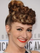 Amy Long Hairstyles: Braided Updo Hairstyle