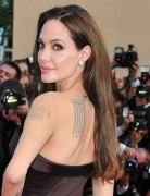 Angelina Jolie Hairstyles: Brown Hairstyle for Long Straight Hair