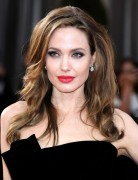 Angelina Jolie Hairstyles: Voluminous Long Hairstyle