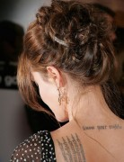 Angelina Jolie Long Hair Styles: Retro Inspired Updo