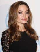 Angelina Jolie Long Hairstyles: Wavy Hairstyle with Light Brown Hair
