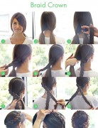 Braid Crown Tutorial for Long Hair