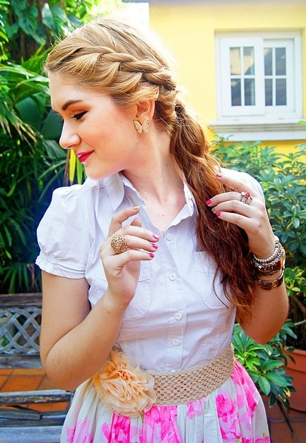 Stupendous 10 Cute Ponytail Hairstyles For 2014 New Ponytails To Try This Short Hairstyles Gunalazisus