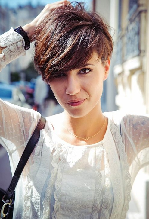 Cute Short Hairstyles with Bangs 2014 PoPular Haircuts