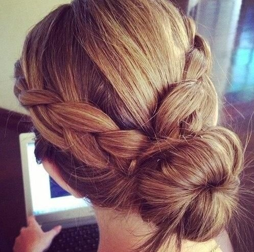 Magnificent Easy Braided Buns Hairstyles Braids Hairstyle Inspiration Daily Dogsangcom