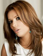 Eva Longoria Long Hairstyles: Trendy Straight Hairstyle for 2014