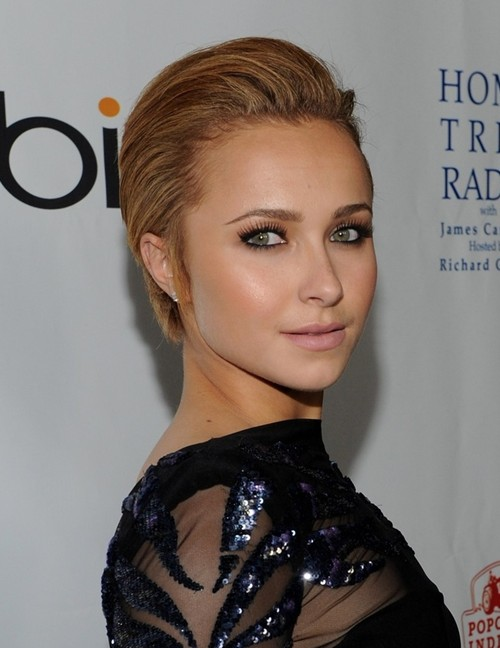 Hayden Panettiere Short Hairstyle - Pixie Haircuts - PoPular Haircuts