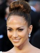 Jennifer Lopez Hairstyles: High Bun Updos