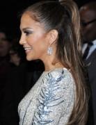 Jennifer Lopez Hairstyles: Simple Half up, Half down Hairstyle