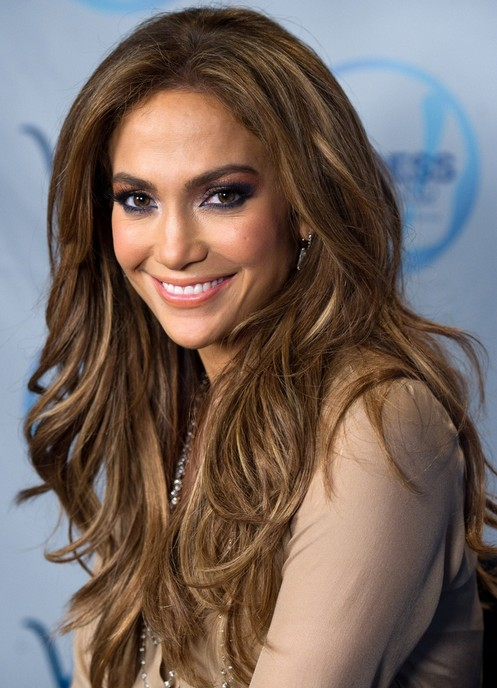 Jennifer Lopez Long Hairstyles: Layered Hairstyle