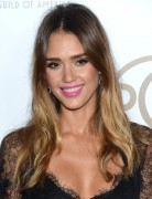 Jessica Alba Hair styles: Ombre Long Hairstyle