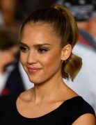 Jessica Alba Hairstyles: High Tight Ponytail