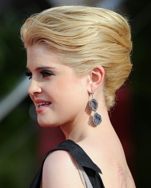 Kelly Osbourne Hairstyles: Cute Chic Updos