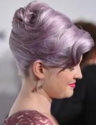 Kelly Osbourne Hairstyles: Elegant High Updos