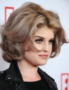 Kelly Osbourne Hairstyles: Mid-length Curly Hairstyle