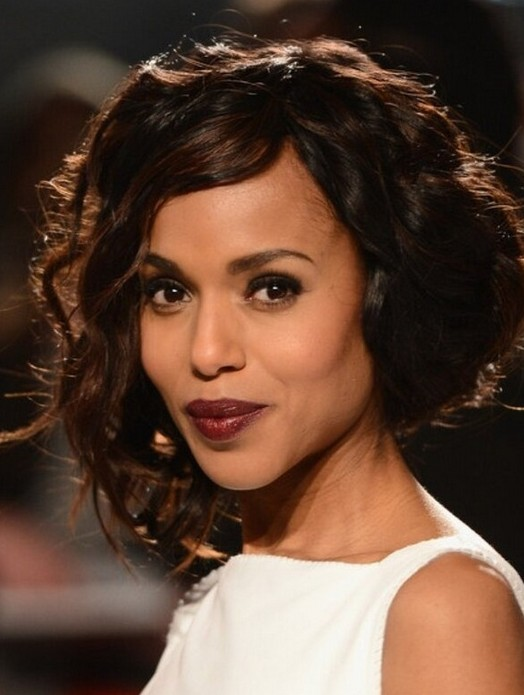 Marvelous Kerry Washington Hairstyles Curly Hairstyle For African American Short Hairstyles For Black Women Fulllsitofus