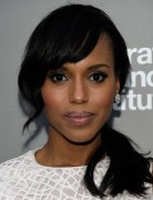 Kerry Washington Hairstyles: Side Ponytail Hairstyle for African American Women