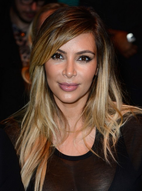 Kim Kardashian Hair Styles: 2014 Long Hairstyles for Straight Hair