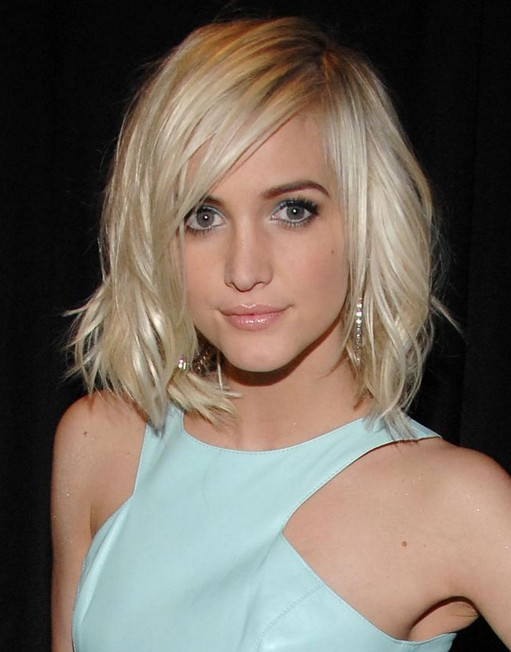 Layered Short Hairstyles with Bangs 2014