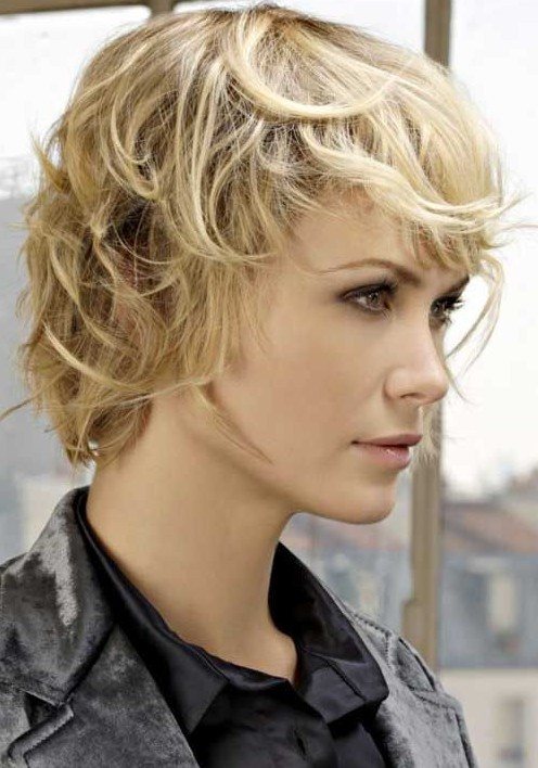 Short Shag Hairstyles Ideas: Messy Haircut