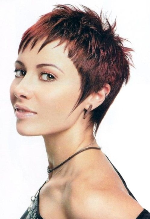 Short Shag Hairstyles Ideas: Pixie Haircuts