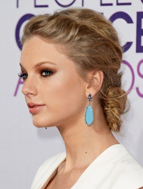 Taylor Swift Hairstyles S Back Updo