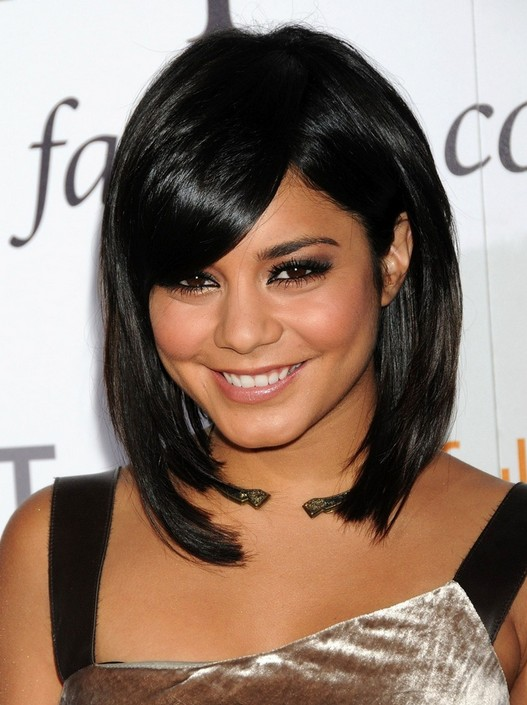 Vanessa Hudgens Short Hairstyles Bob Haircut With Bangs