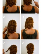 Wedding Updo Hairstyles Tutorials: Braided & Twisted Updos